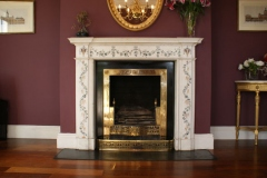 18th century Irish chimneypiece by Pietro Bossi