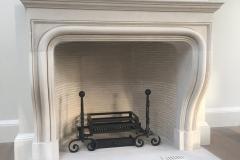Antwerp Belgian Stone fireplace