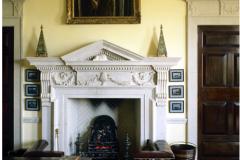 George II stone fireplace