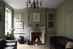 Georgian Stone Fireplace