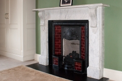 Victorian marble fireplace