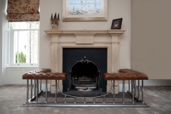 The London with Fitzwilliam cast iron insert by Ryan & Smith
