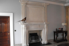 Bespoke bathstone fireplace