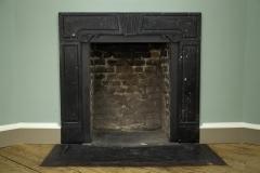 George II Kilkenny fossil limestone chimneypiece