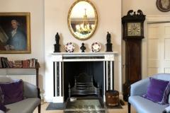 Antique Regency Fireplace