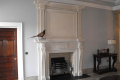 Bespoke bathstone fireplace