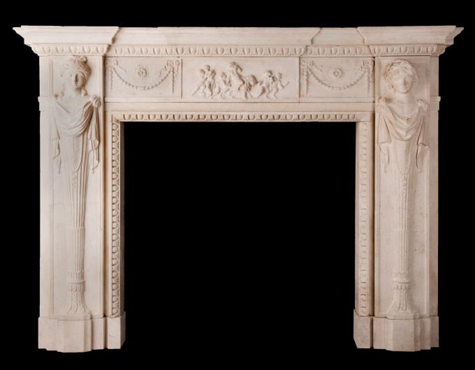 bath stone chimneypiece