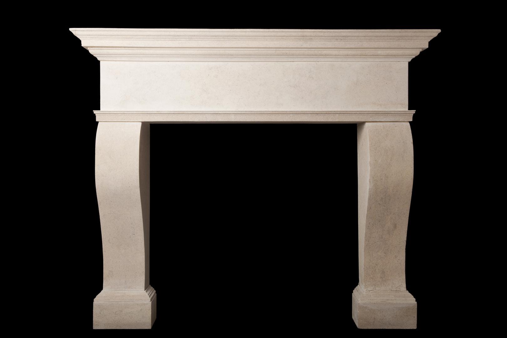 Iris – Stone Fireplace