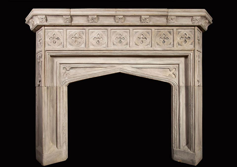 Pugin – Gothic Fireplace