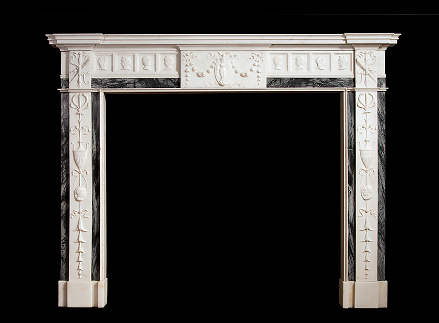 Adam Style Fireplace – 18023