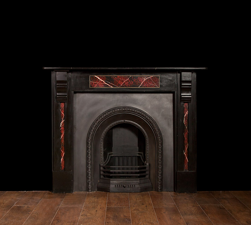 Slate Fireplace – SL008