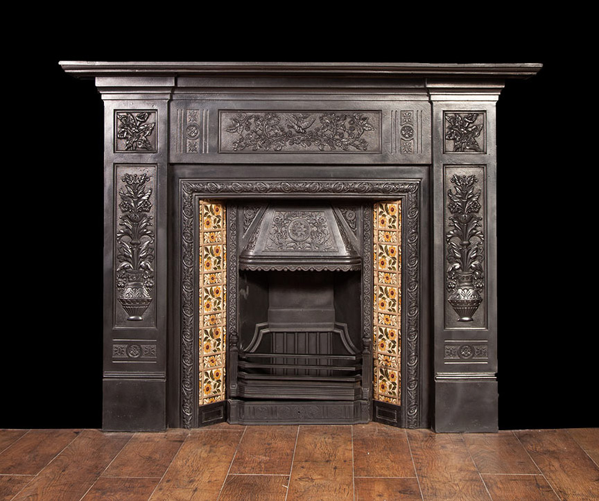 Arts and Crafts Fireplace – CI038