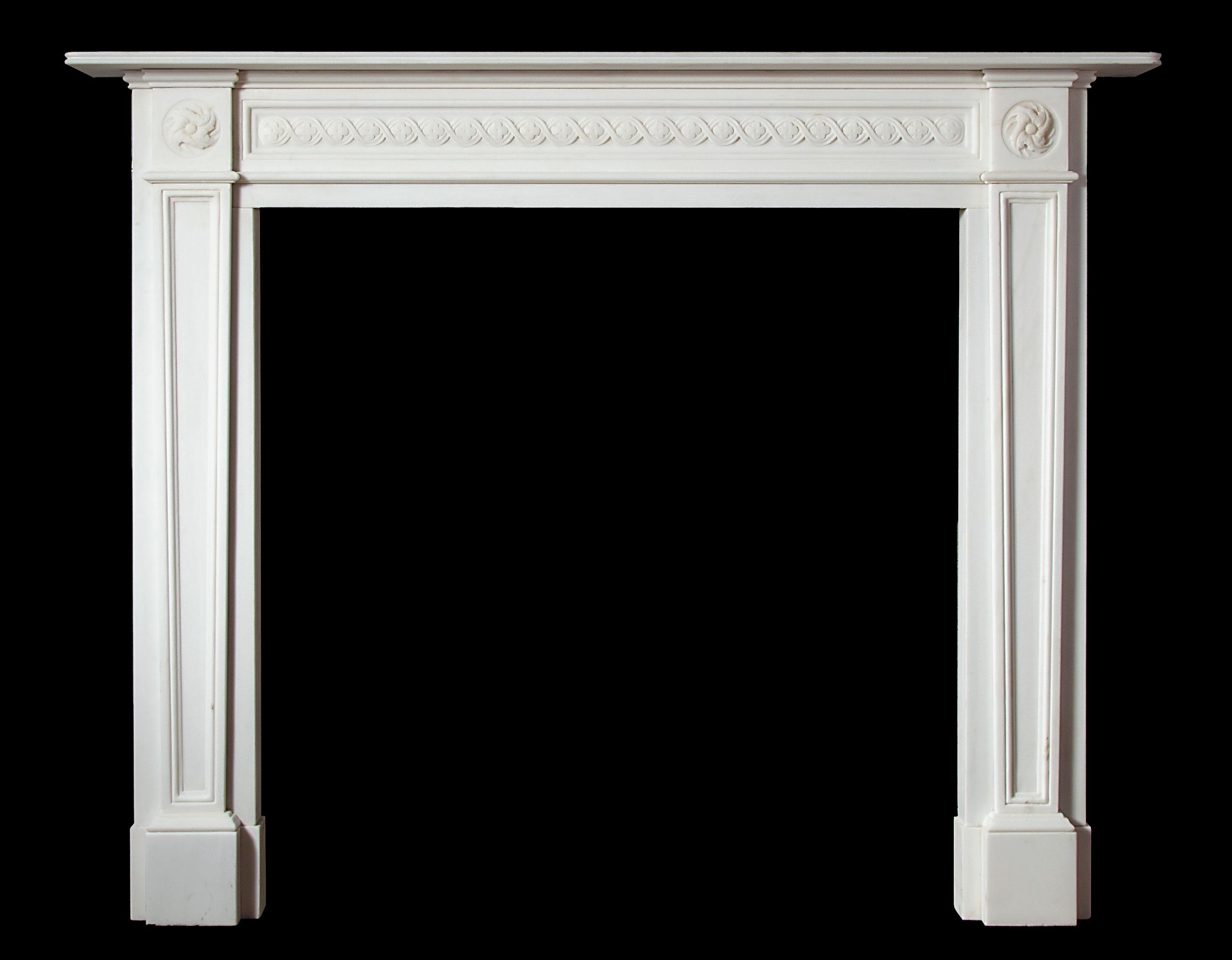 Johnston – Marble Fireplace
