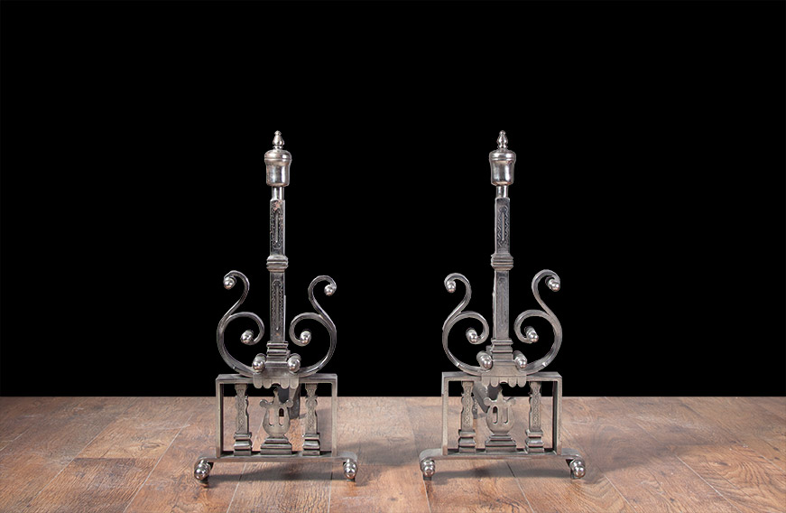 Fireplace Andirons – AI016