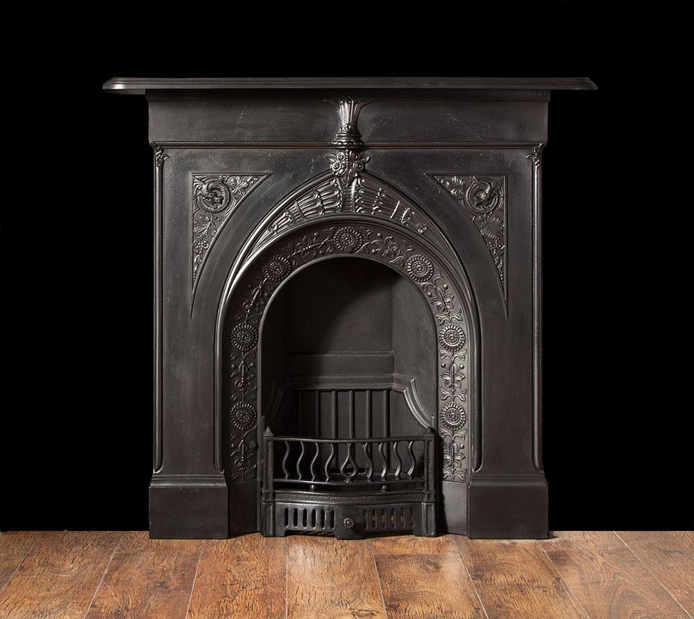 Cast Iron Fireplace – Ci141