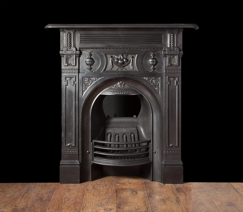 Victorian Cast Iron Fireplace – Ci146
