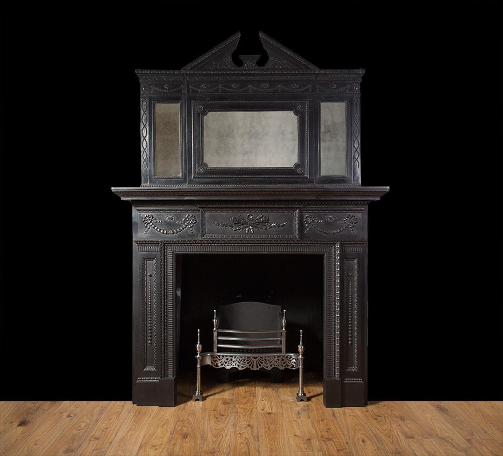 Antique Cast Iron Fireplace – Ci151