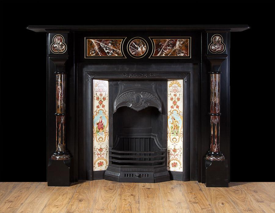 Victorian Slate Fireplace – SL025