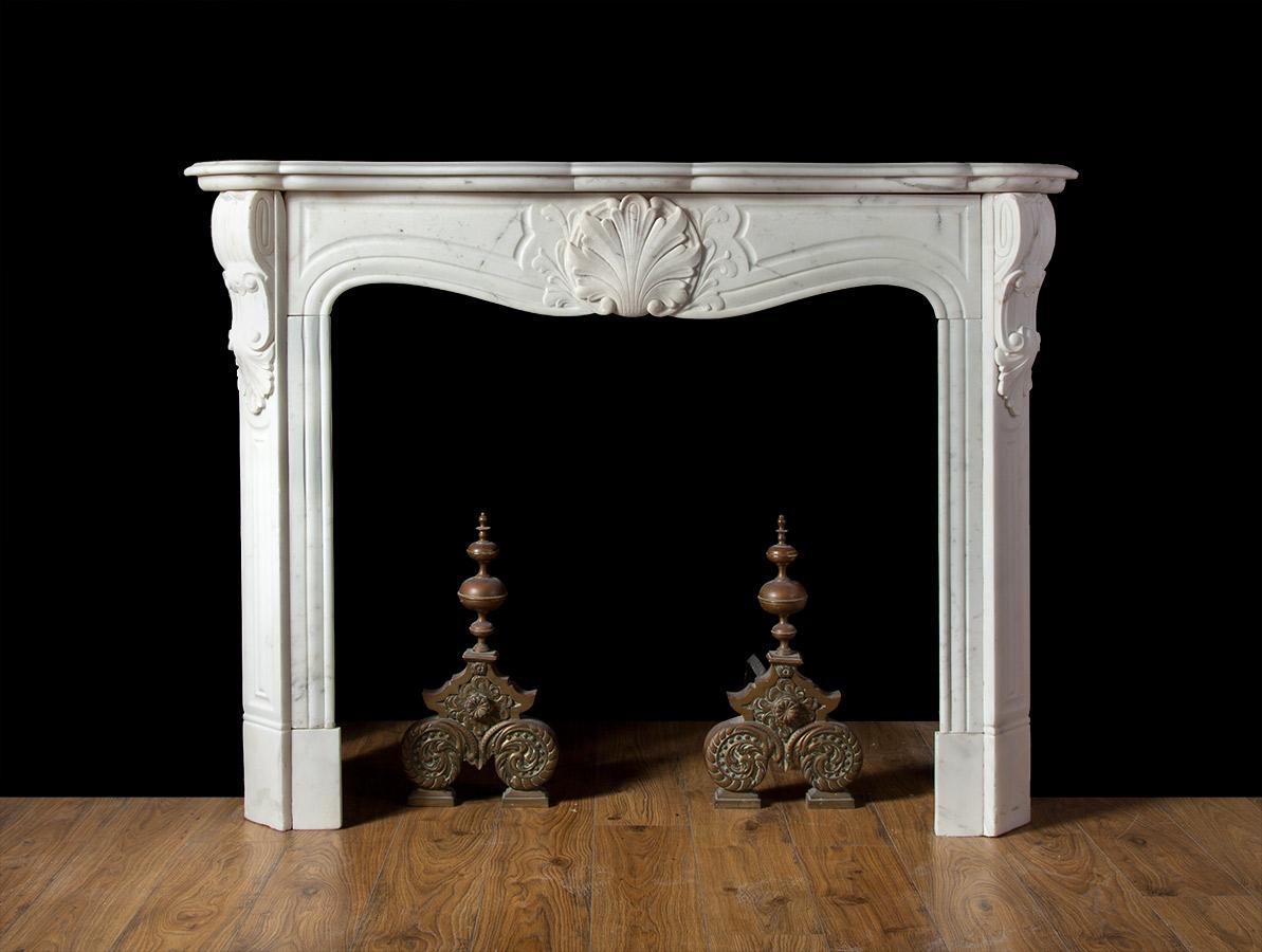 Rococo Fireplace – 19209