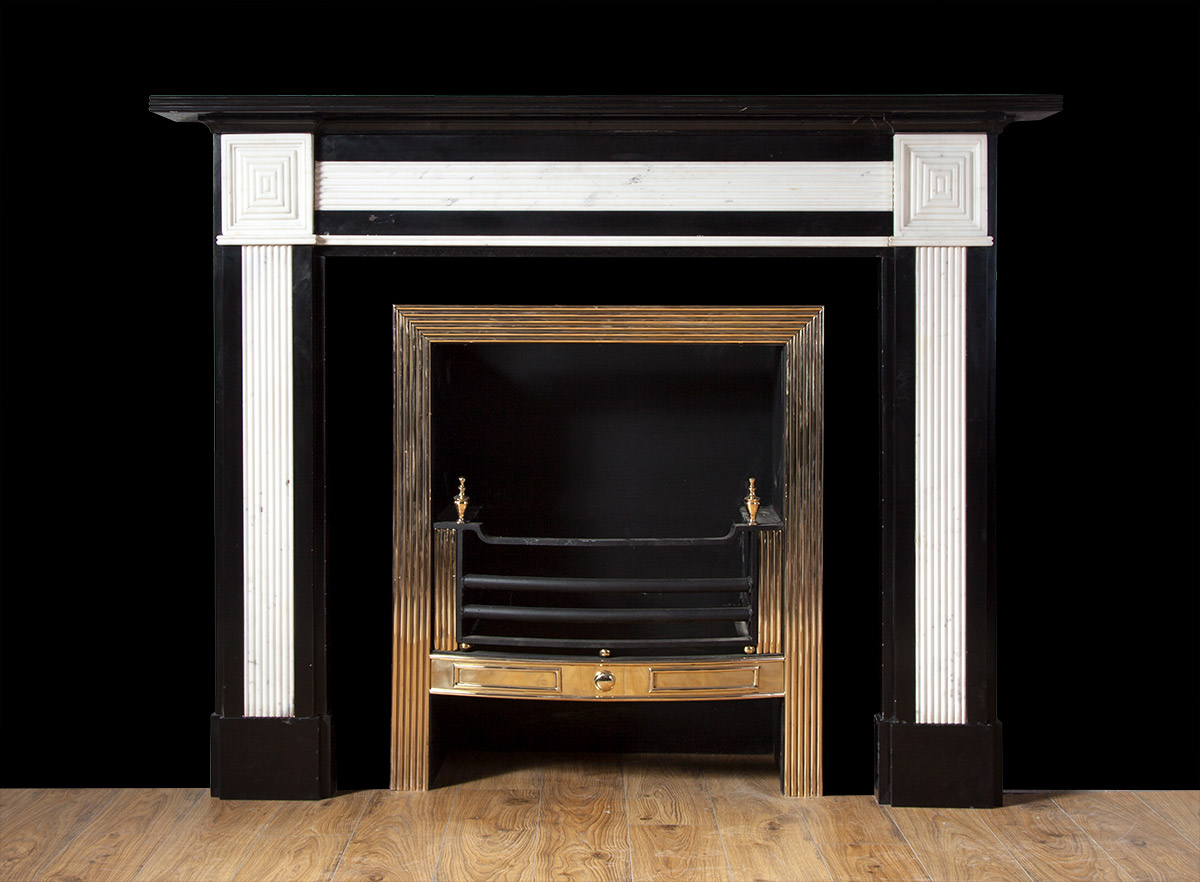 Black And White Marble Fireplace 19223 19th Century 19th Century Marble Antique Marble Fireplaces Georgian Regency Ryan Smith Antique Fireplaces Ireland