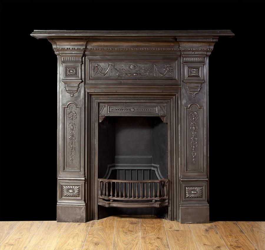 Cast Iron Fireplace – Ci157