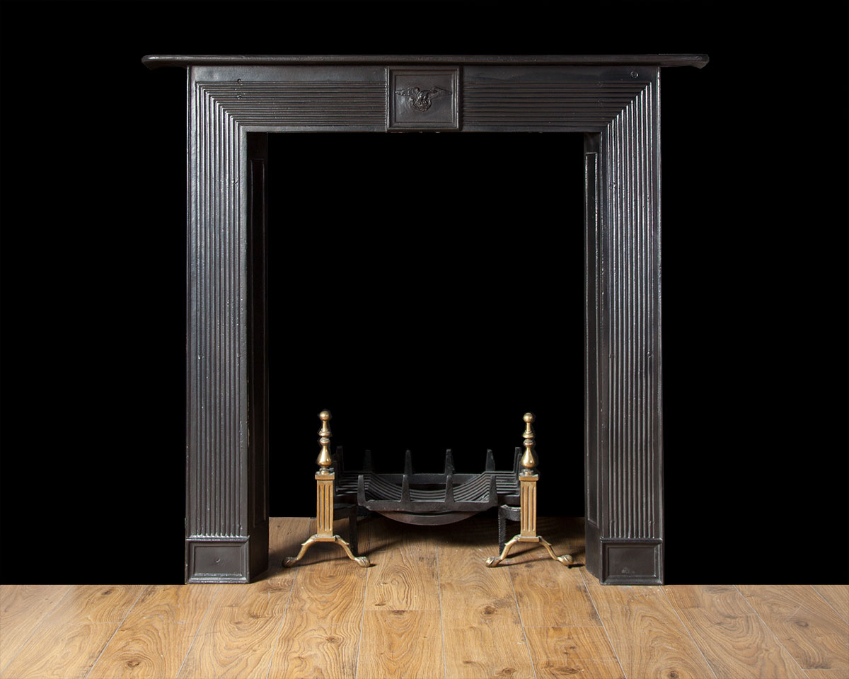 Regency cast iron fireplace – Ci165