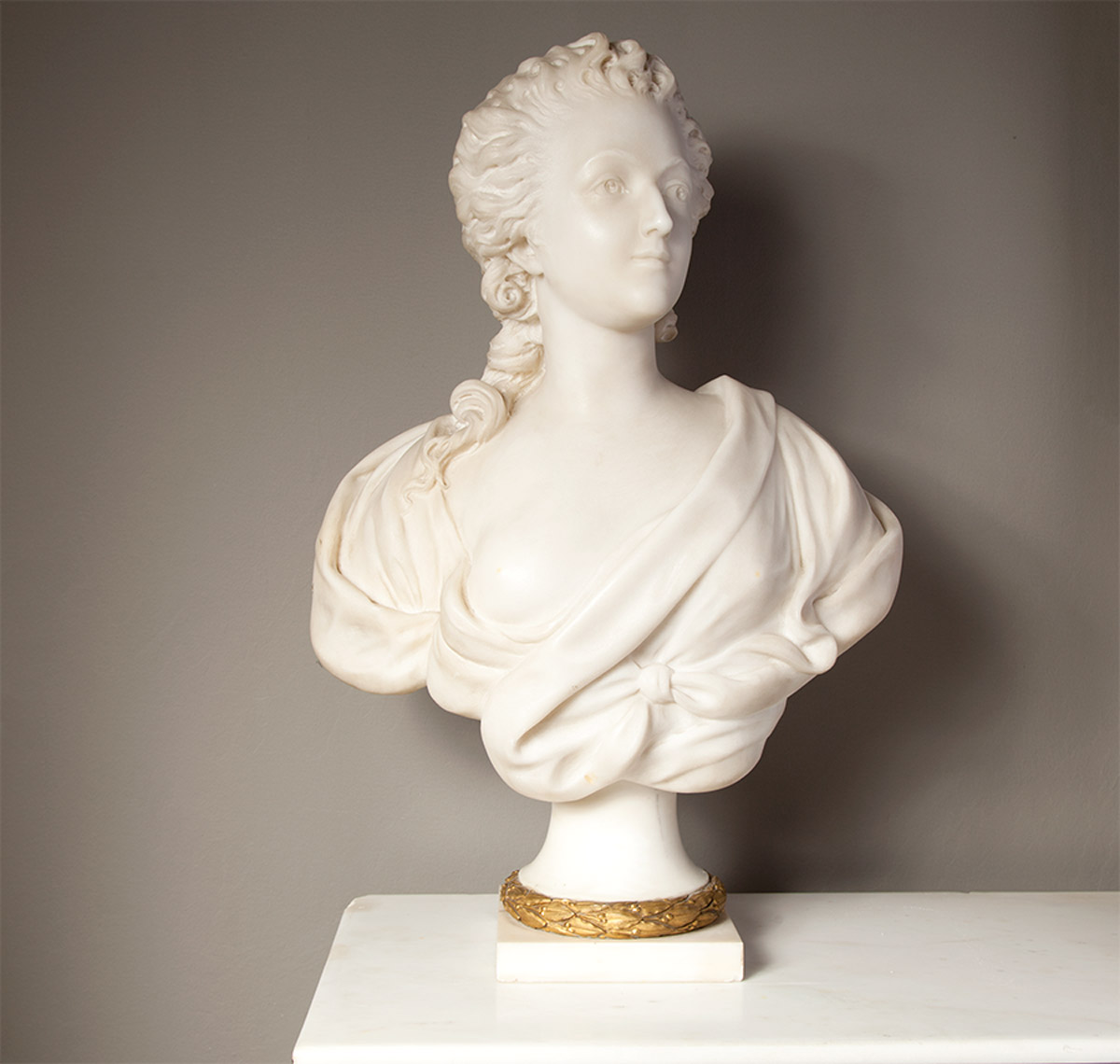 French Marble Bust – SC013