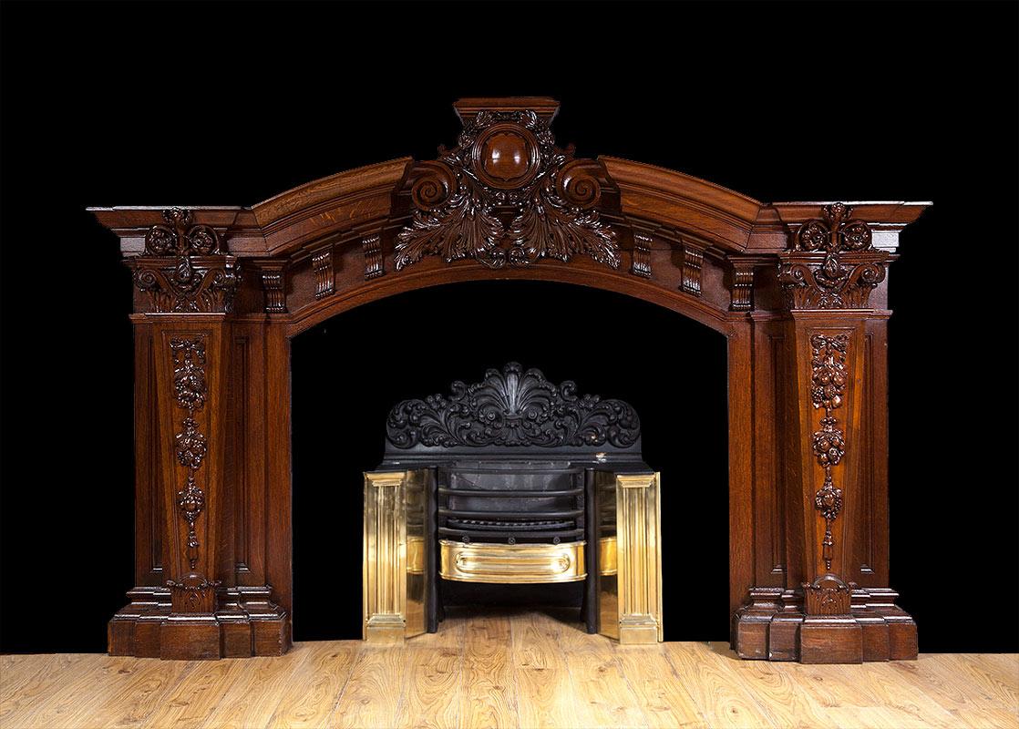 Baroque Fireplace – W094