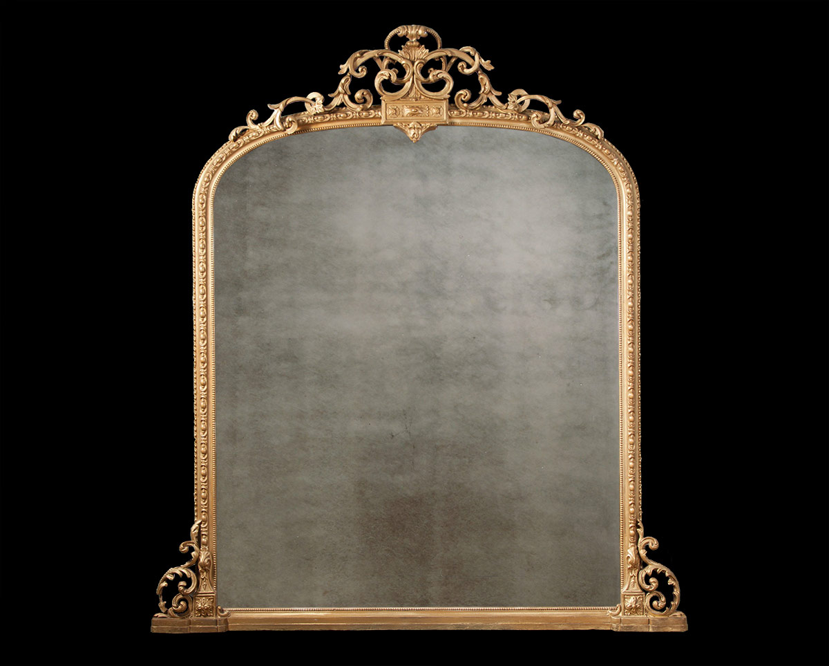 Decorative Gilt Overmantel – AF036