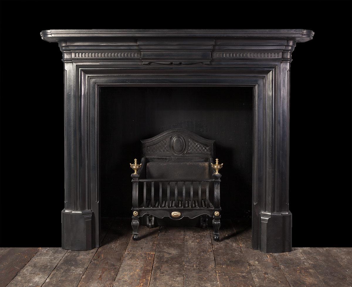 Antique Cast Iron Fireplace – Ci170