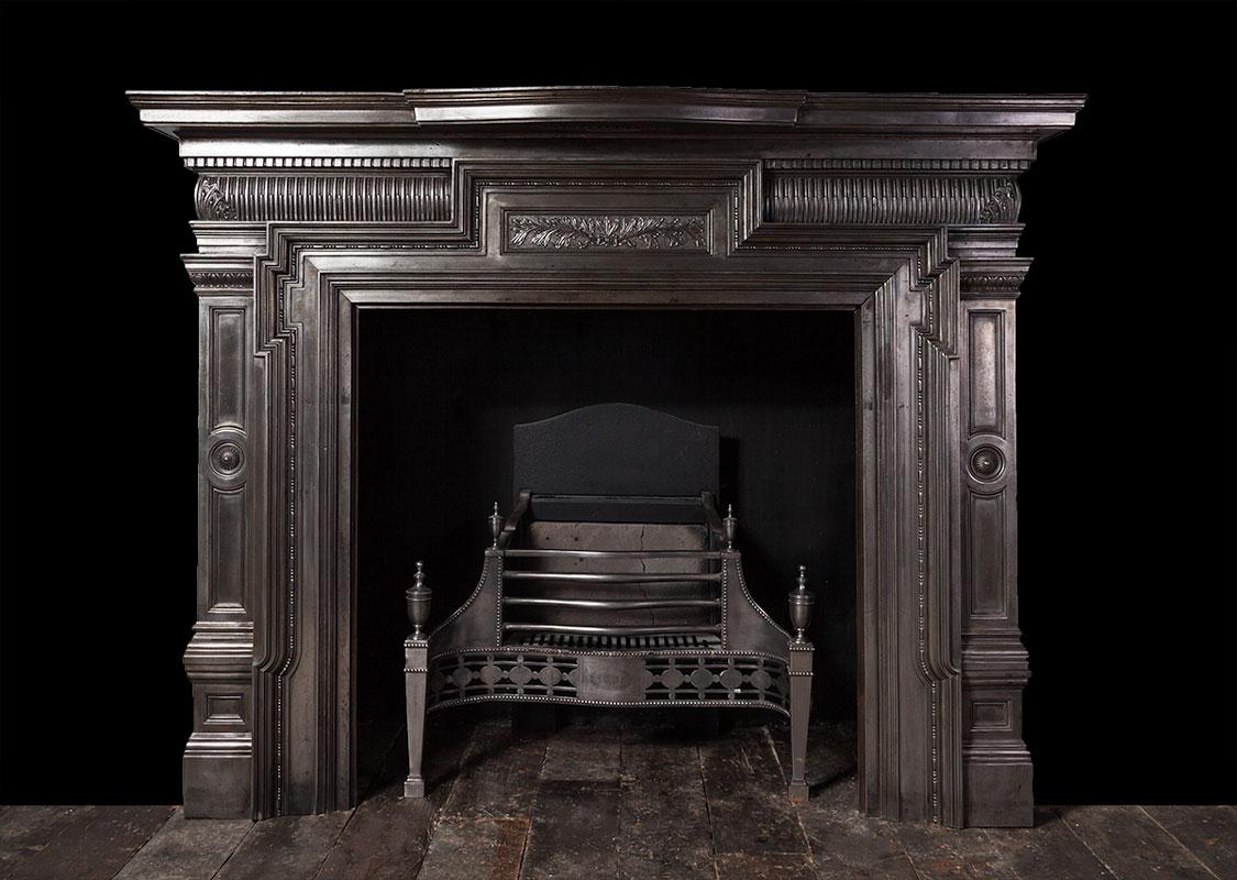 Cast Iron Fireplace – Ci172