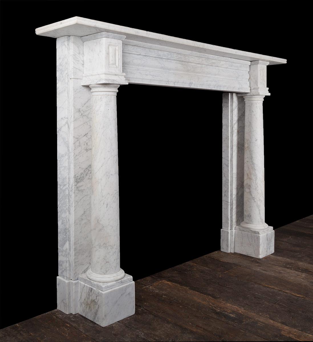 Column Fireplace 19250 19th Century 19th Century