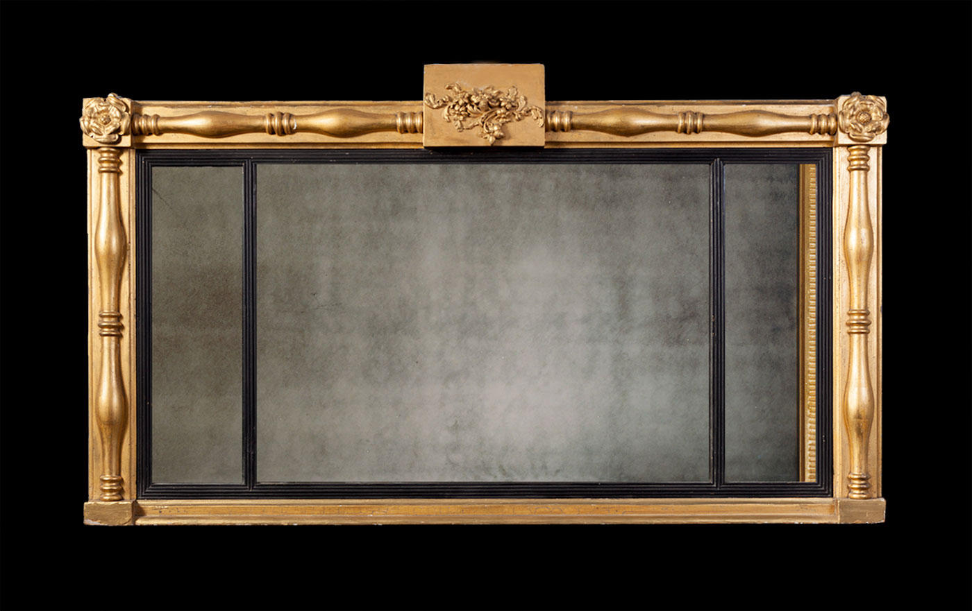 over mantel mirror af040 mirrors ryan smith. Black Bedroom Furniture Sets. Home Design Ideas