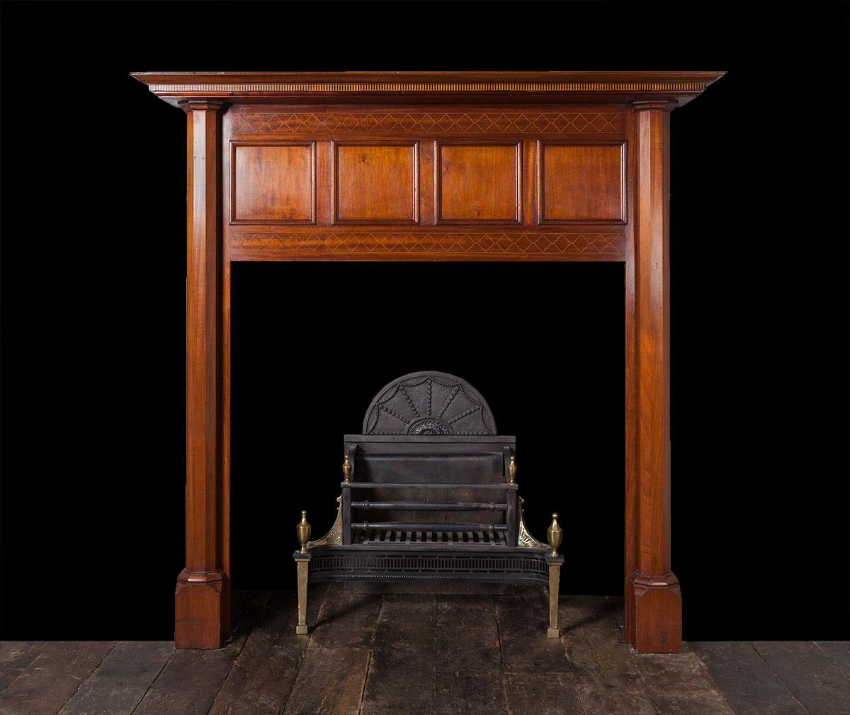 Wood fireplace – W103