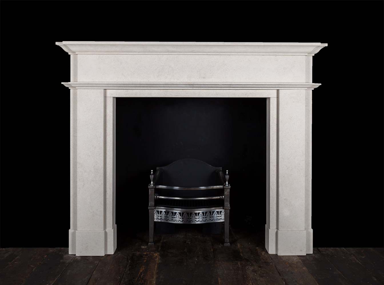 Zara – Stone Fireplace
