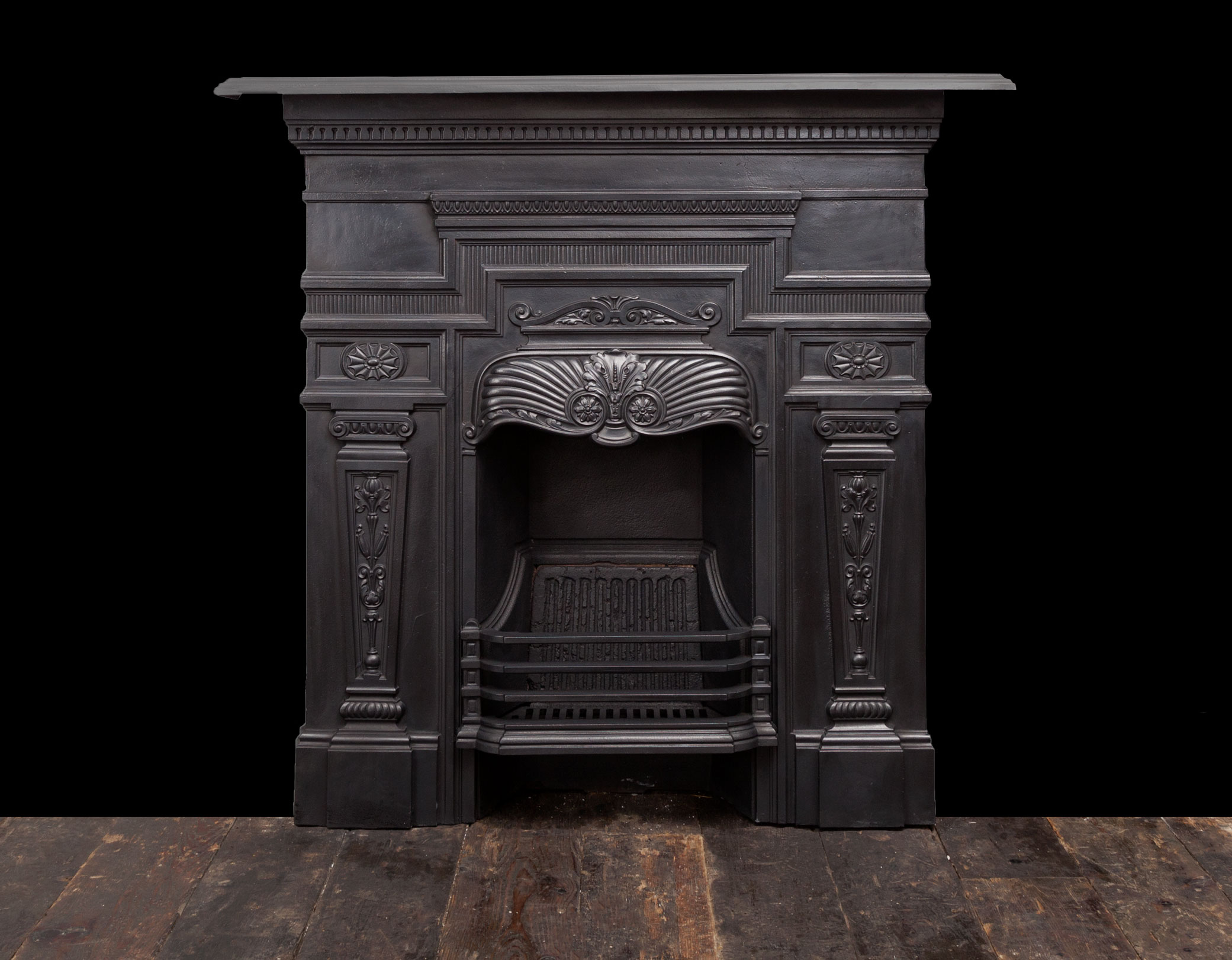 Cast Iron Fireplace – Ci175