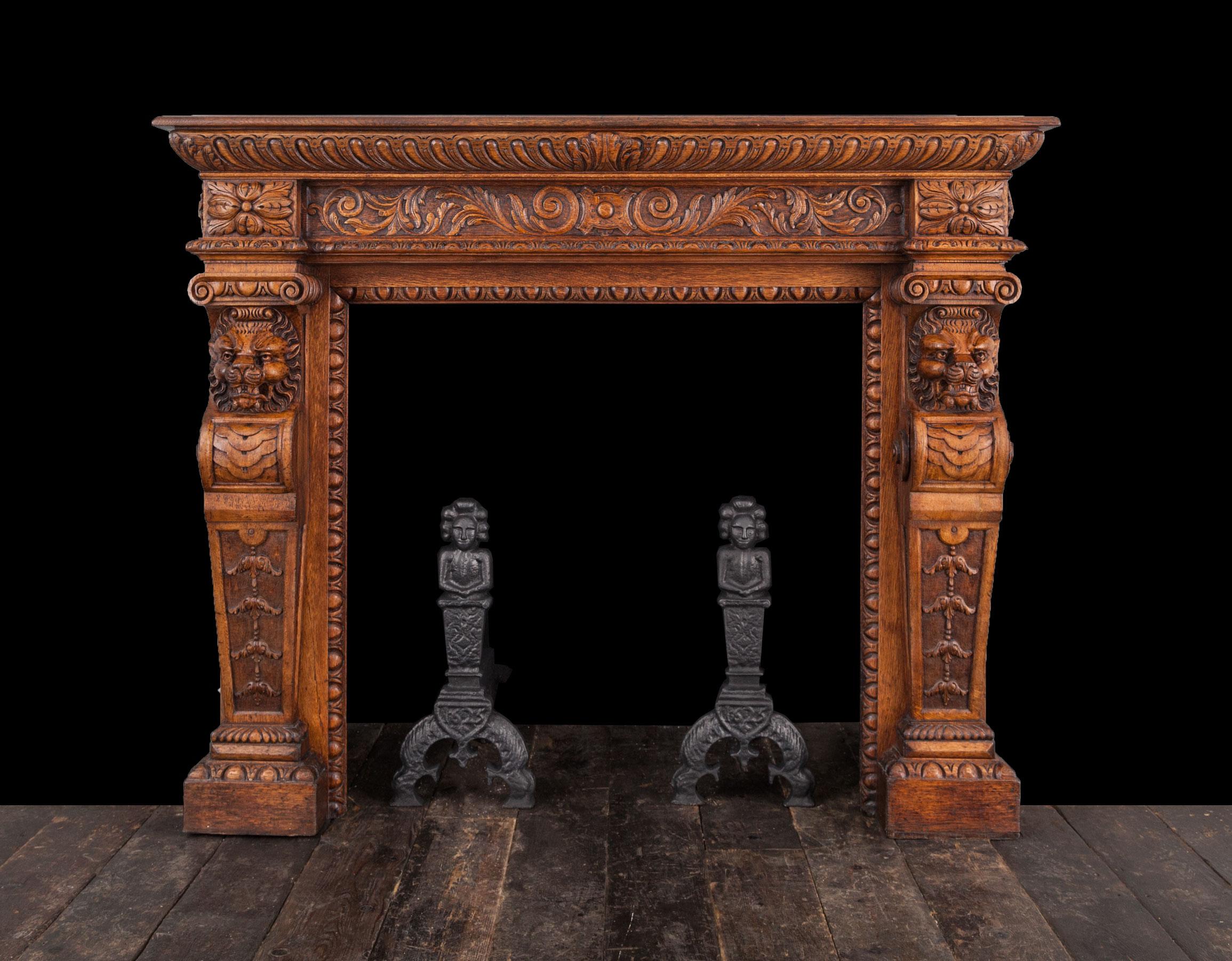 Jacobean Fireplace – W112