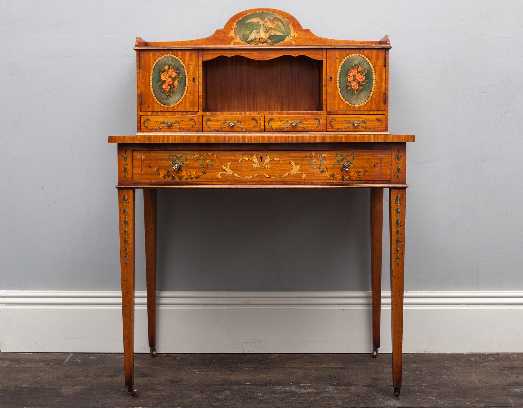 Ladies dressing desk - AF059 - Furniture, Other Antiques ...