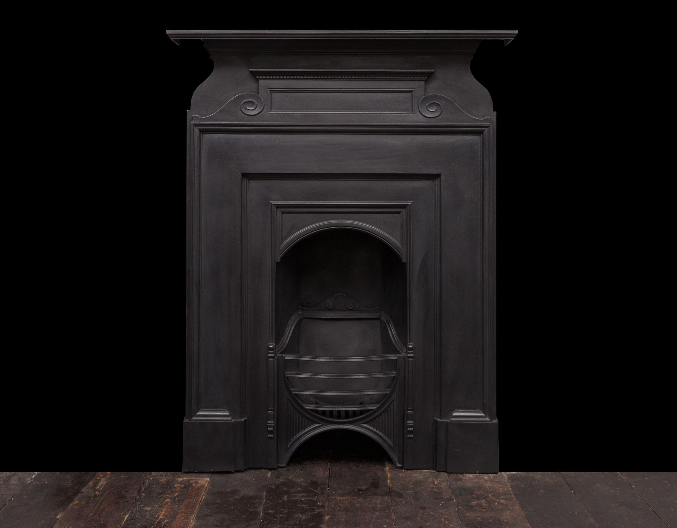 Cast iron fireplace – Ci176