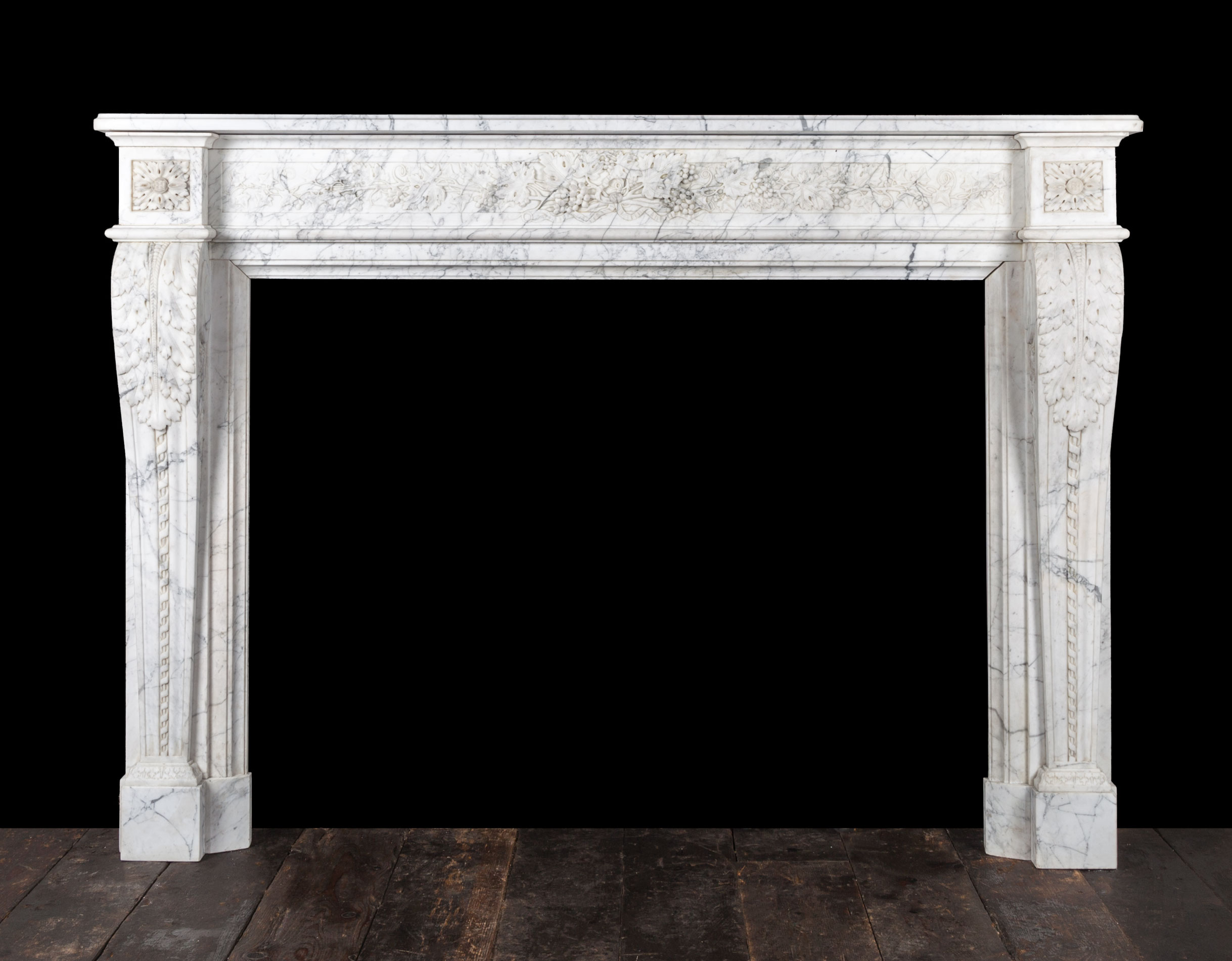 French marble fireplace – 19270