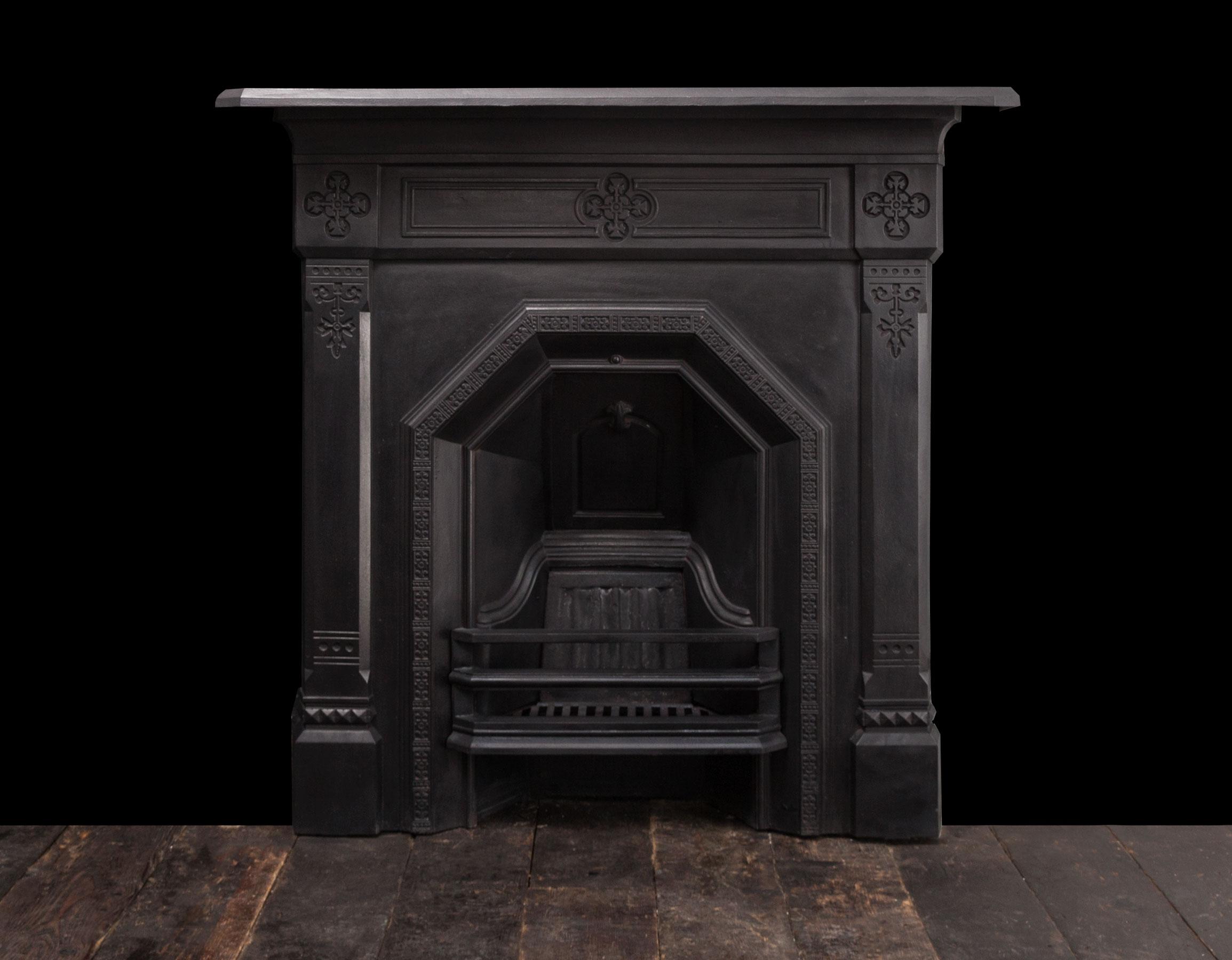 Cast iron fireplace – Ci180