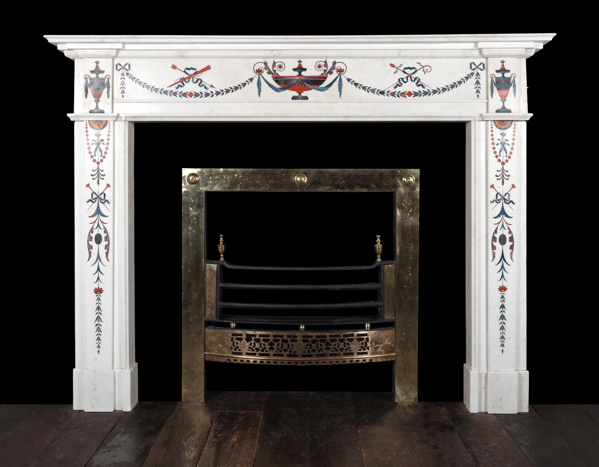 Bossi Fireplace 18158 18th Century 18th Century