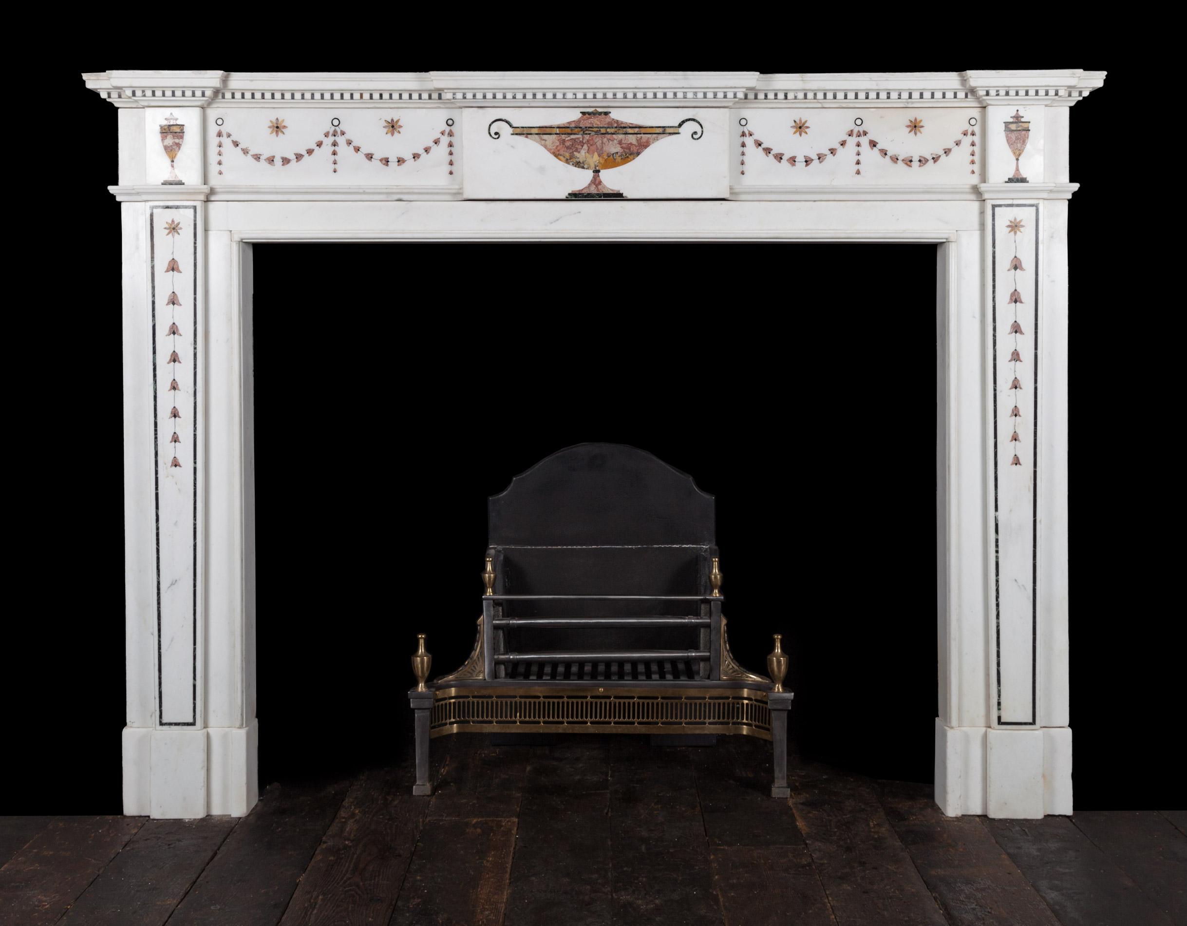 Inlaid Chimneypiece – 18159
