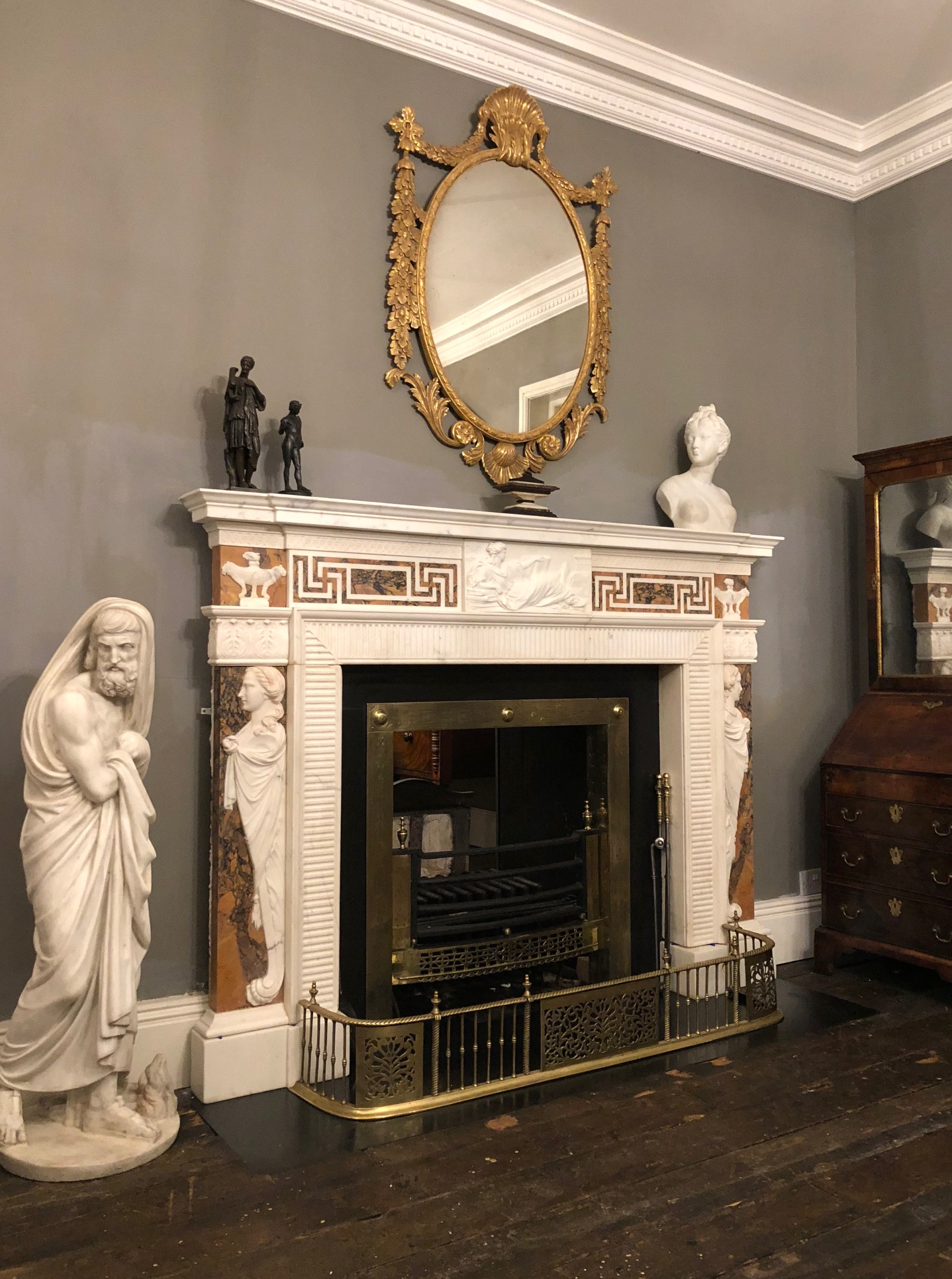 Georgian Fireplace - 18161
