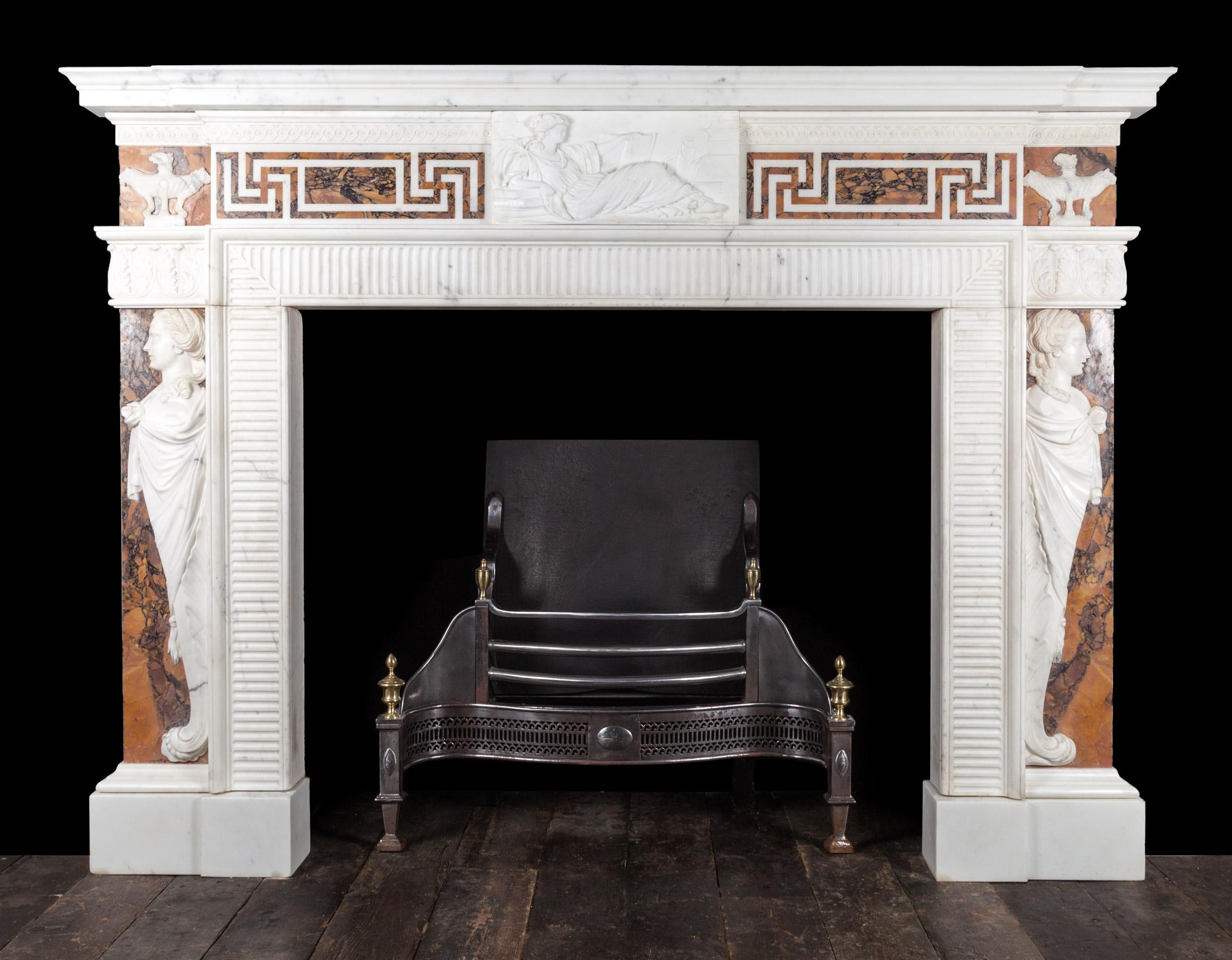 Georgian Fireplace – 18161