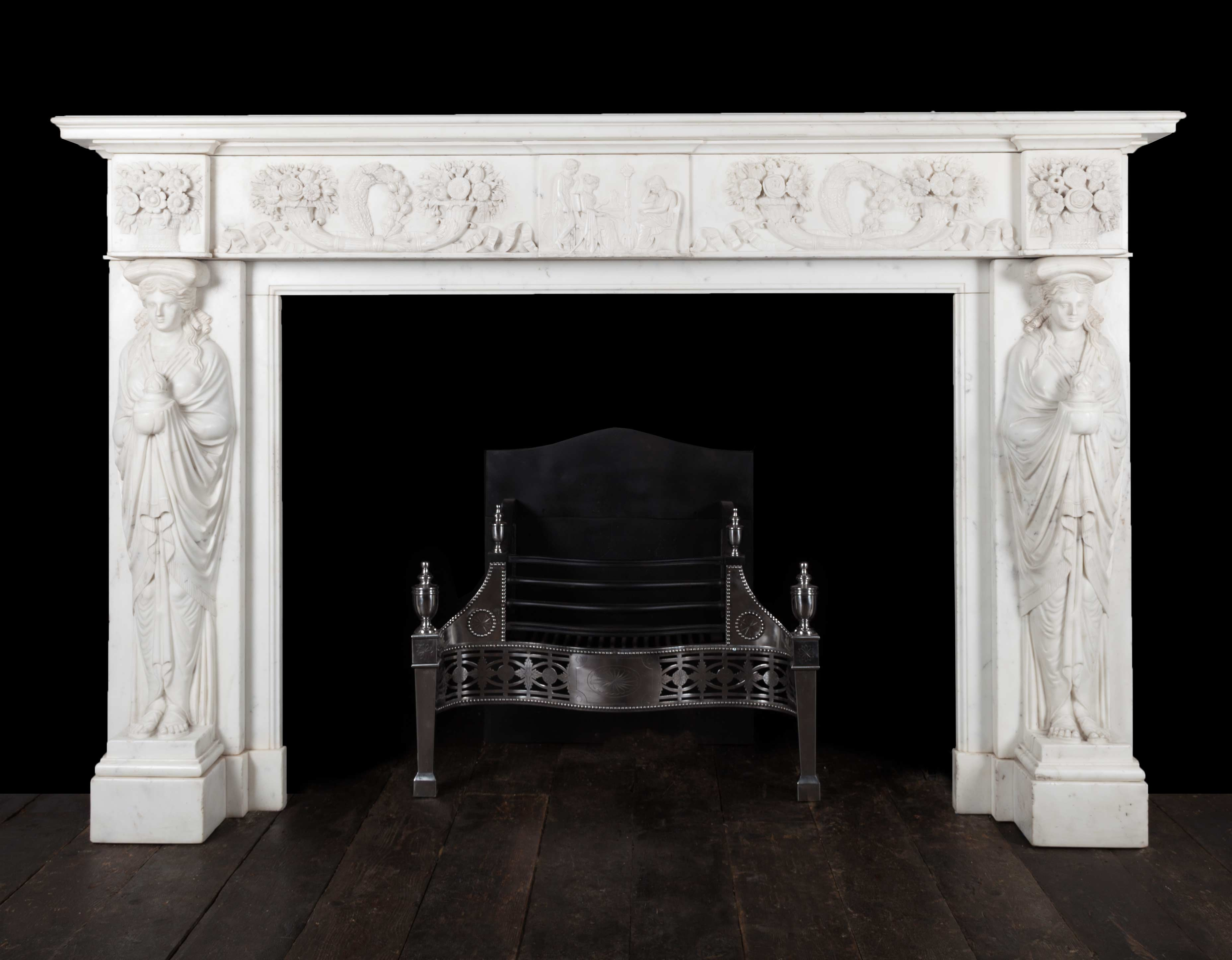 Antique Fireplace – 18162