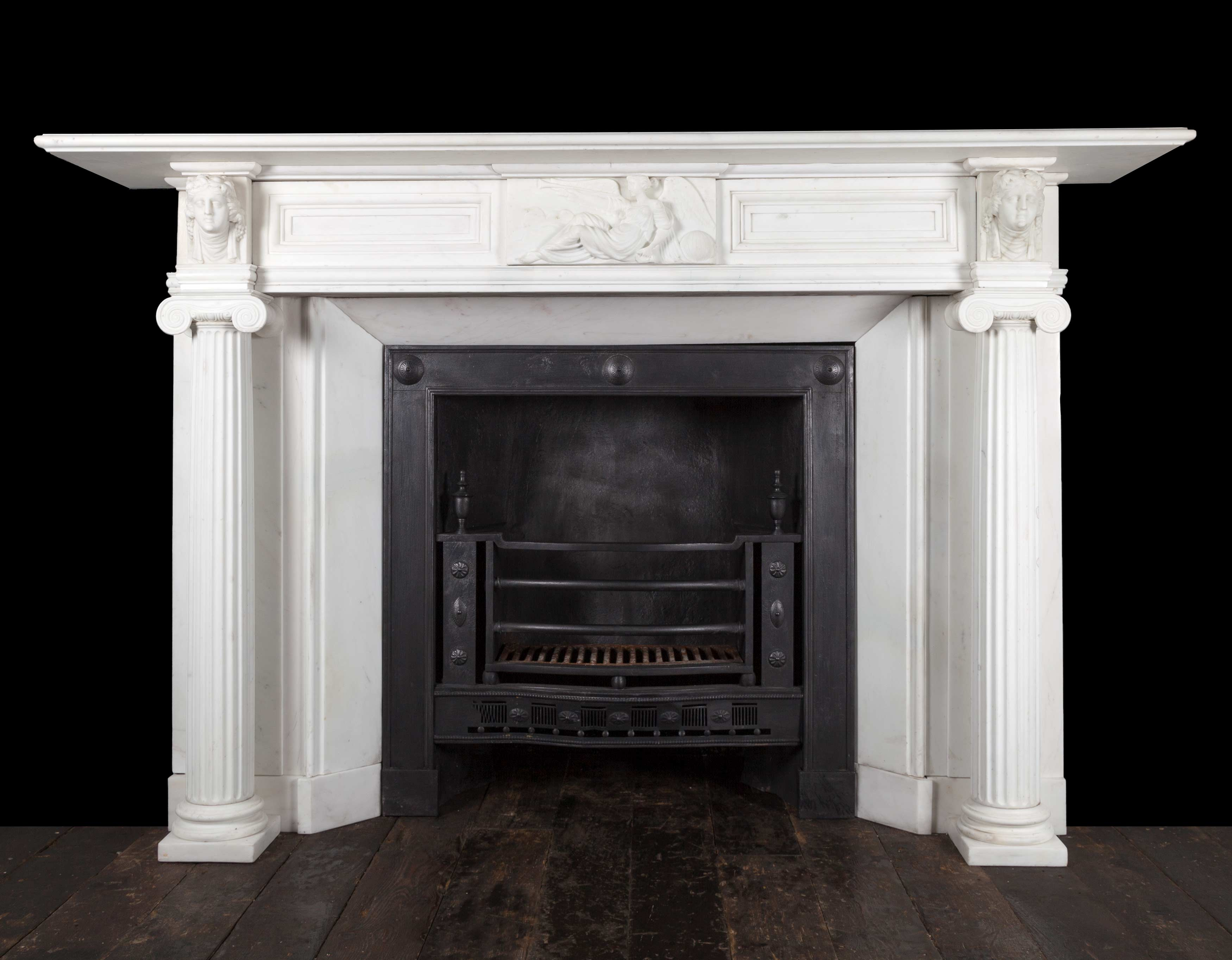 Regency Fireplace 19305 19th Century 19th Century Marble Antique Fireplaces Antique Marble Fireplaces Exceptional Pieces Georgian Neoclassical Regency Ryan Smith Antique Fireplaces Ireland