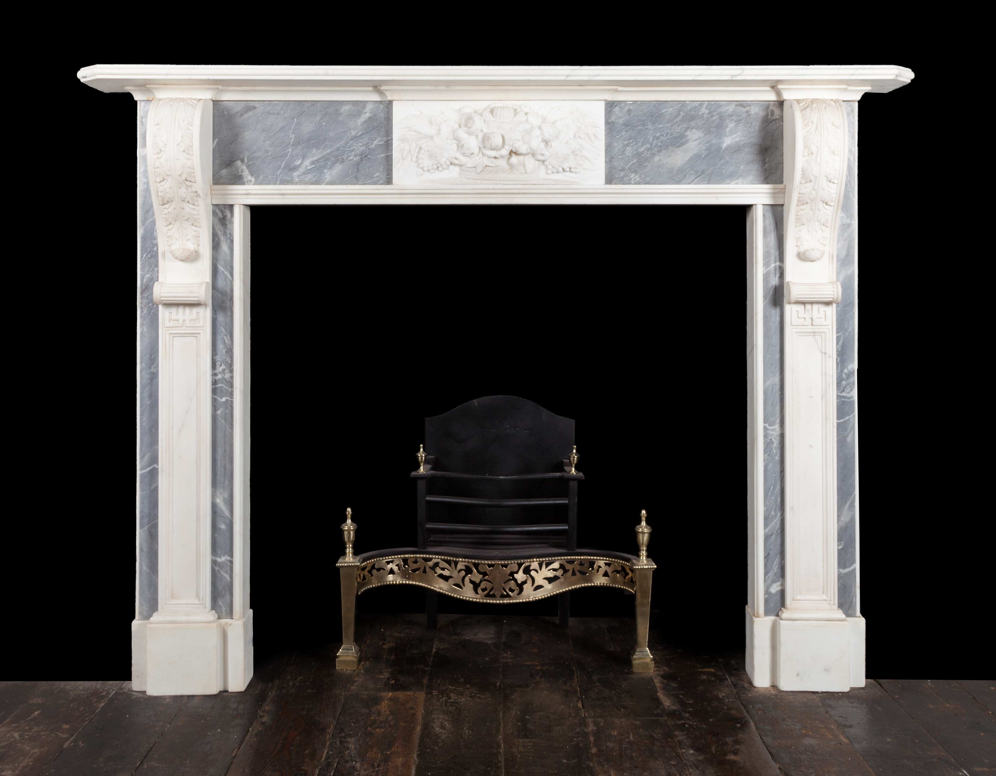 Pair of fireplaces – 19312