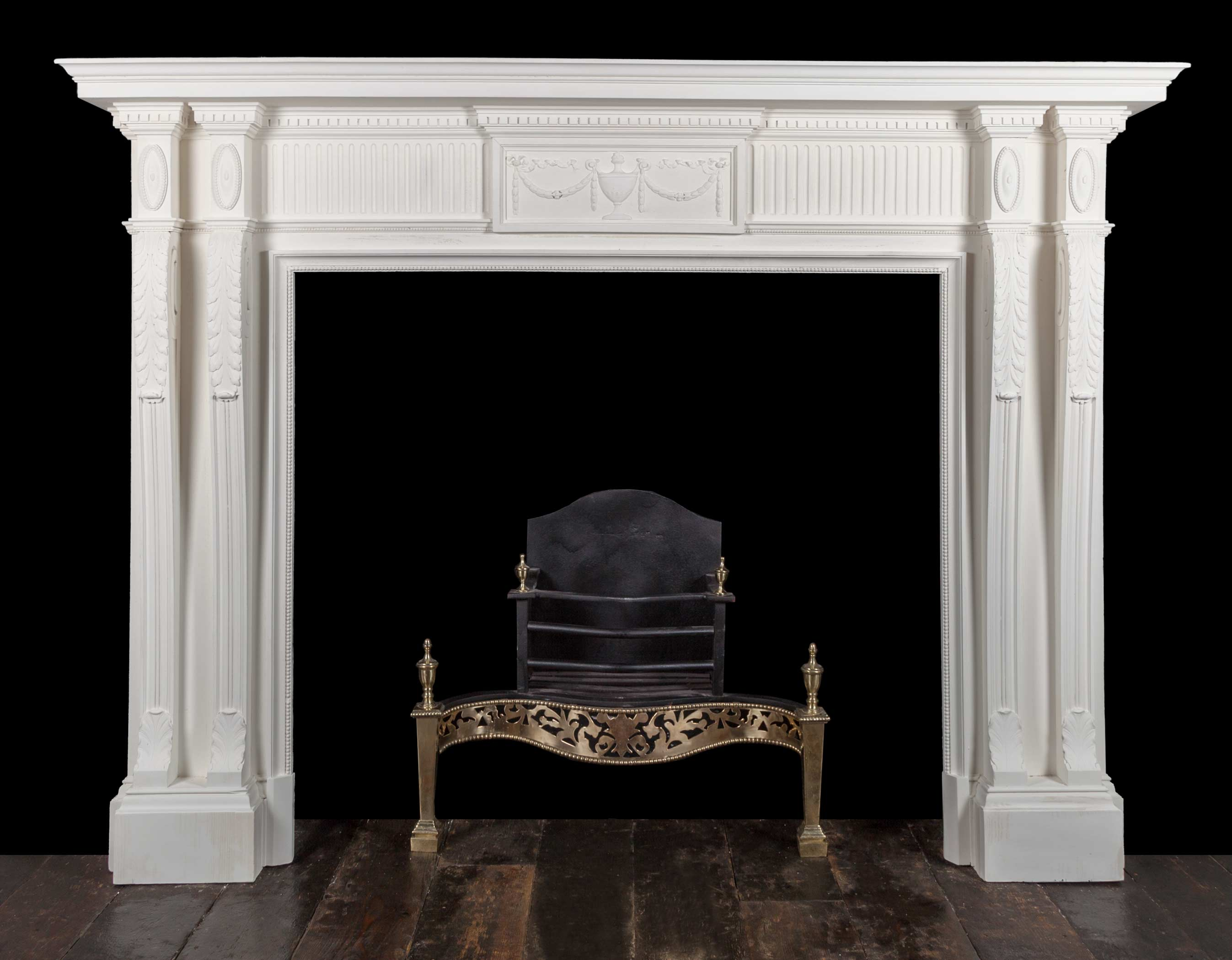 Antique Fireplace – W126