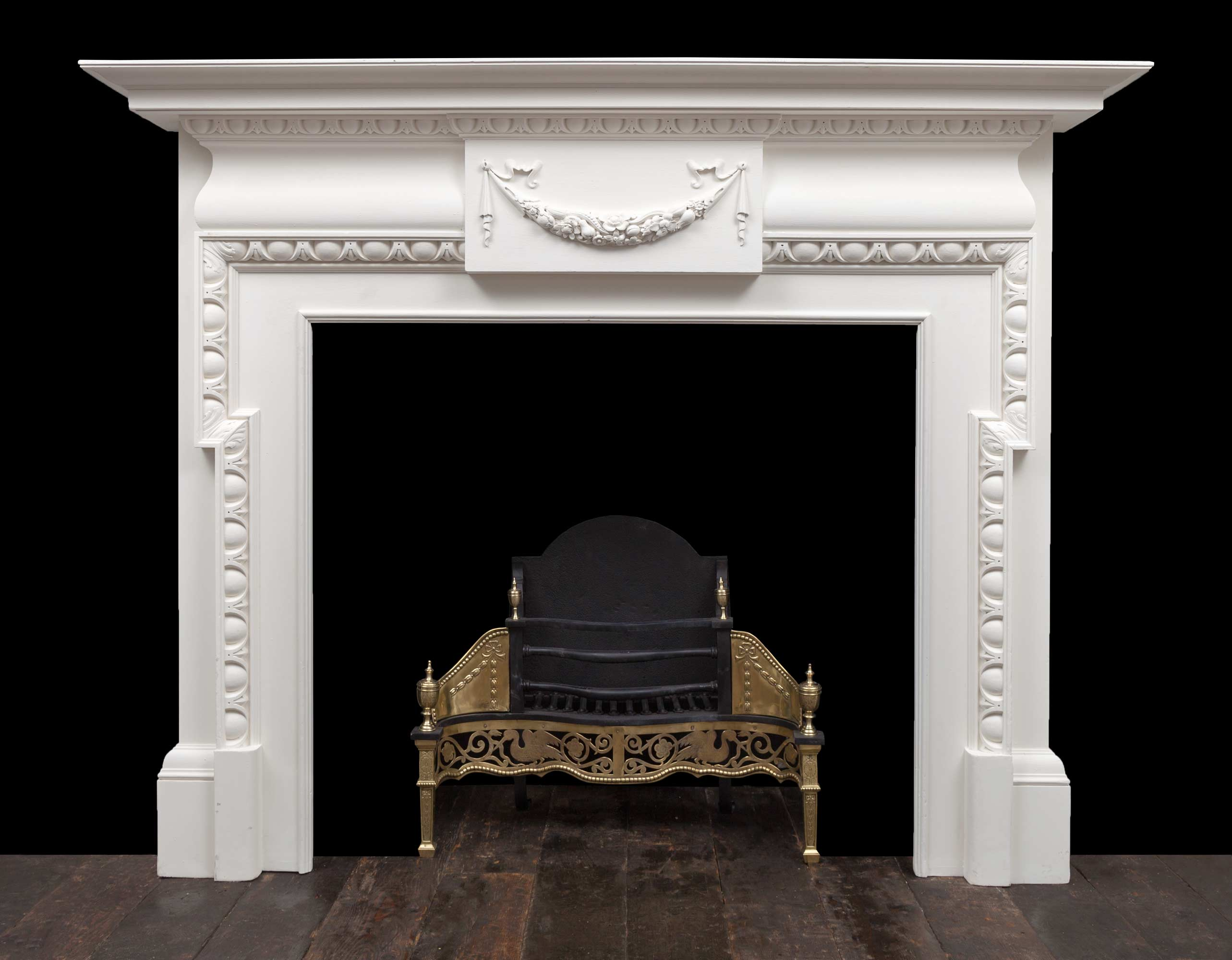 Painted Mantel – W122